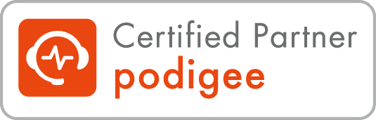 podigee | certified partner