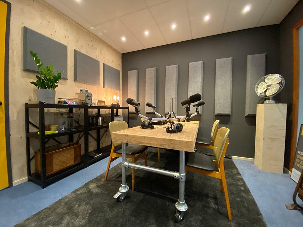 podcast studio haarlem