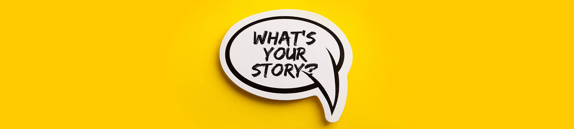 wat is jouw verhaal?